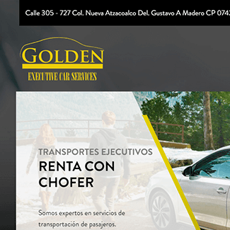 sitio web golden car mexico equilibrio visual