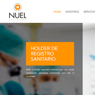 sitio web nuel enterprises equilibrio visual