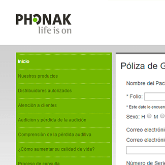 sitio web phonak equilibrio visual