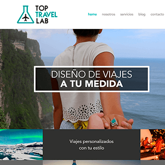 sitio web top travel lab equilibrio visual